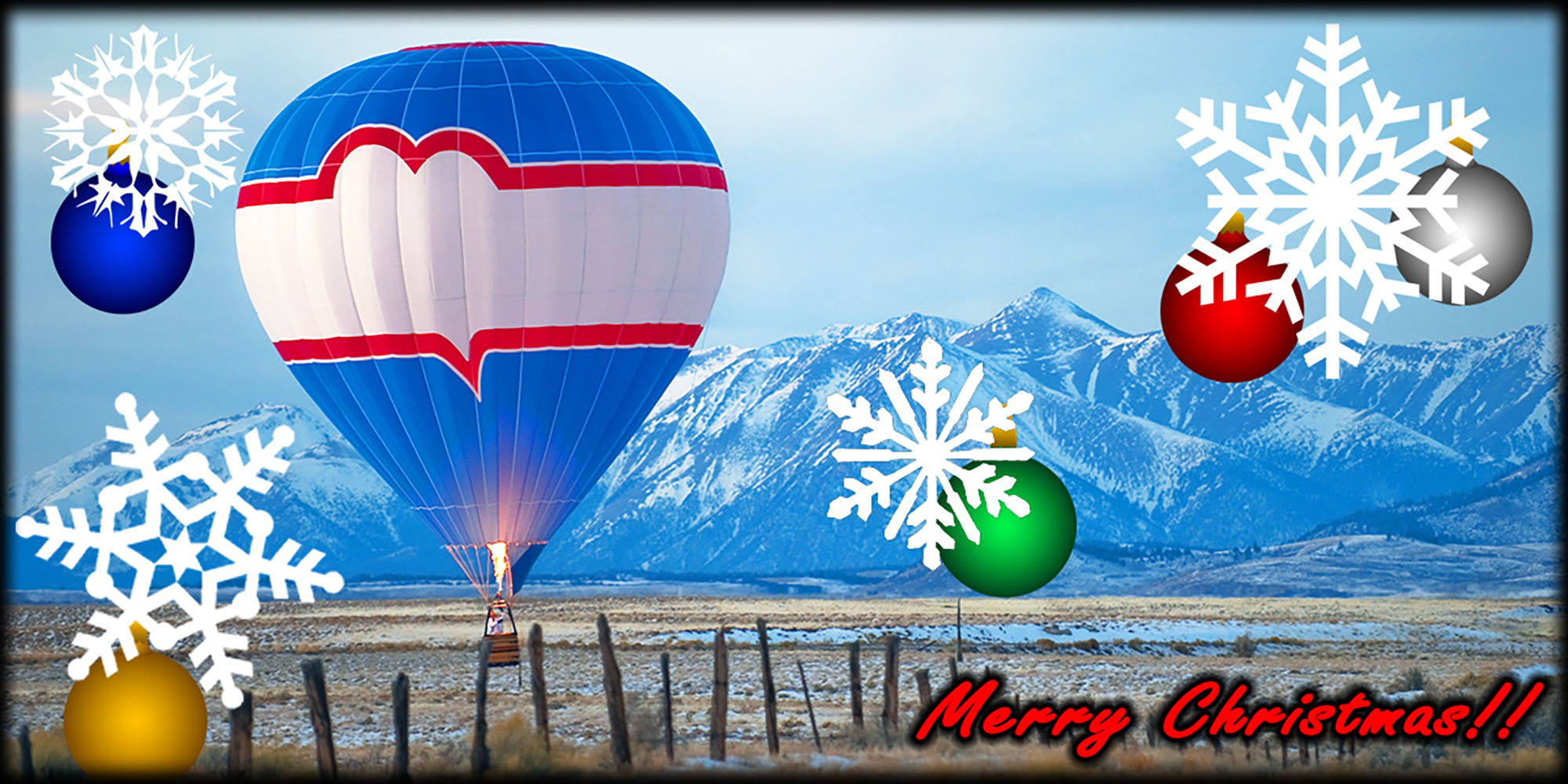 Montana Balloon Christmas Gift Certificates